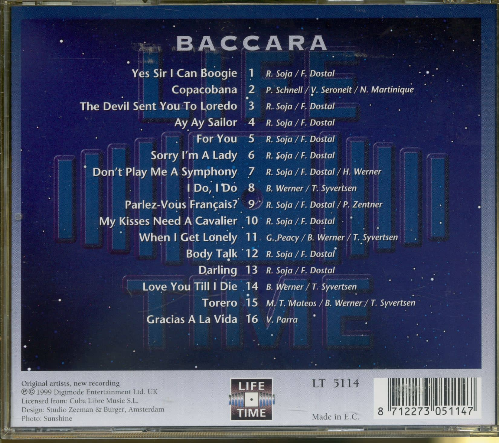 BACCARA Yes Sir I Can Boogie (CD)