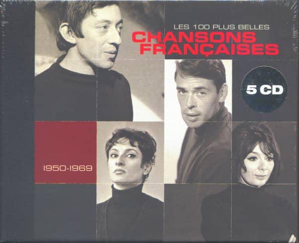 Chansons Francaises - Les 100 Plus Belles (5-CD Box Set, Ltd.)