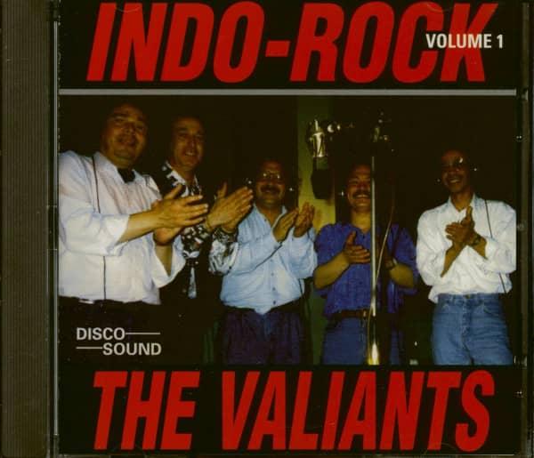 the valiants cd indo rock vol 1 cd bear family records