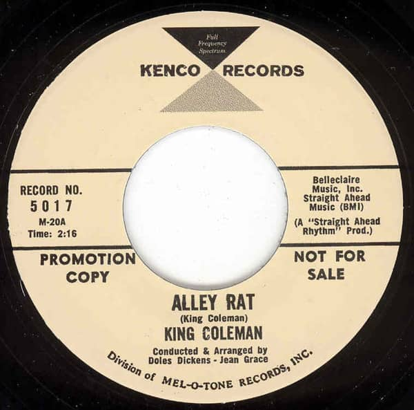 Alley Rat - Dressed In Plaid 7inch, 45rpm