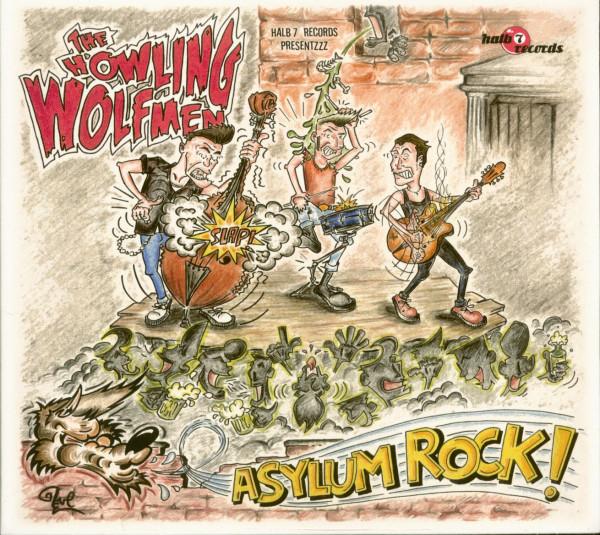 Asylum Rock (CD)