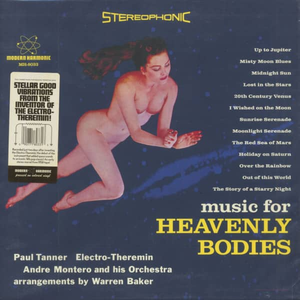 Music For Heavenly Bodies (LP, Blue Vinyl)