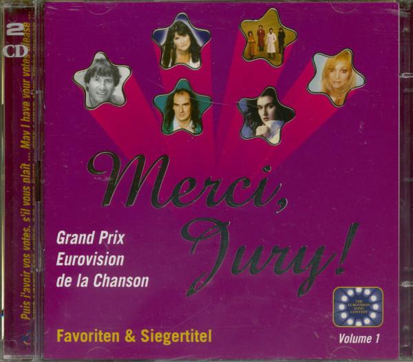 Merci, Jury! Grand Prix Favoriten (2-CD)