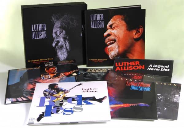 A Legend Never Dies - Essential Recordings 1976 - 1997 (10-LP, 4-DVD & 7inch)