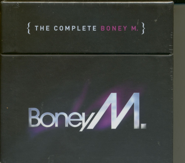 The Complete Boney M. (8-CD&DVD) Cube-Box