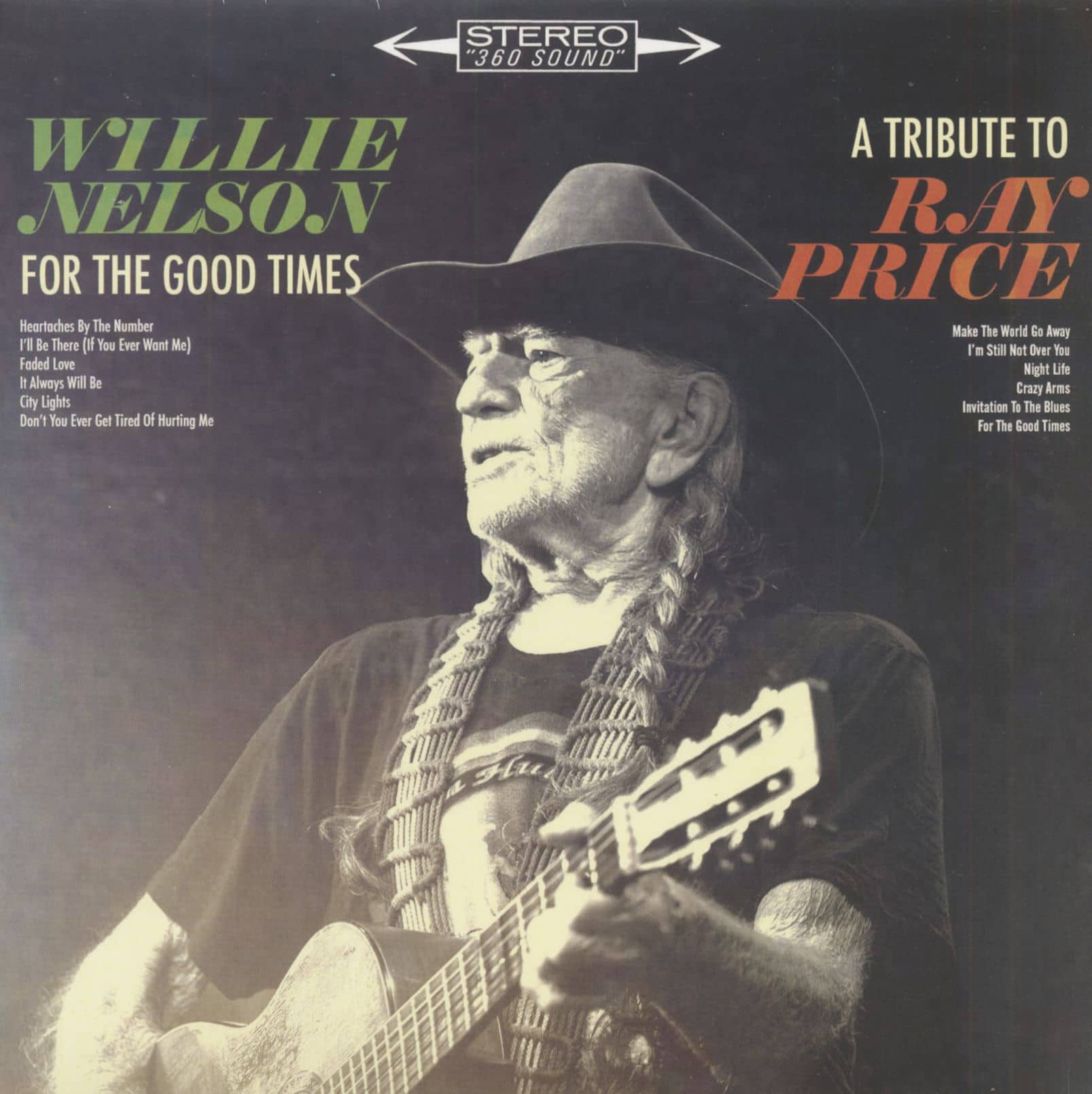 Willie Nelson Lp For The Good Times A Tribute To Ray
