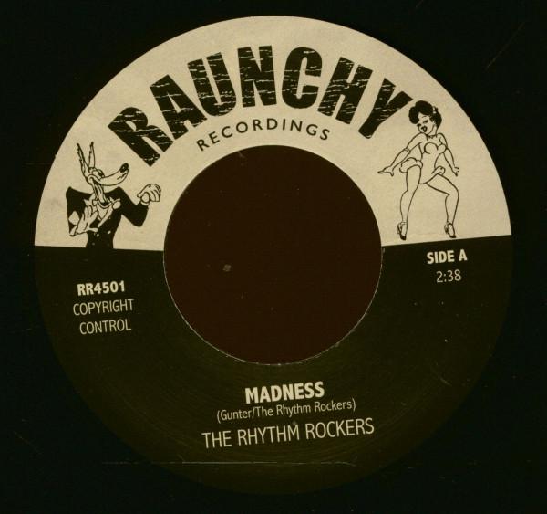 Madness - Wolf Call - Raunchy DJ Series (7inch, 45rpm, BC)