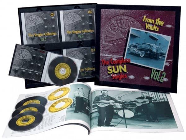 The Sun Singles Vol.2 (4-CD & Buch)