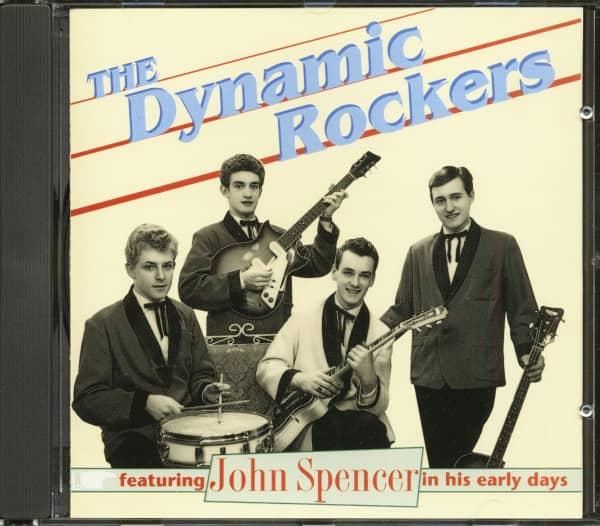 The Dynamic Rockers Feat. John Spencer (CD)