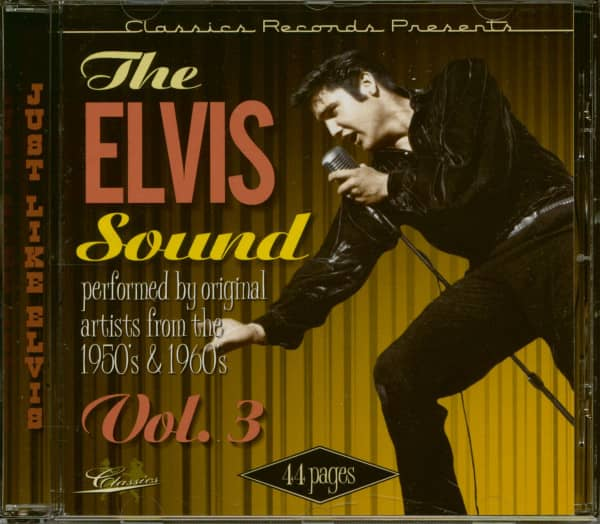 The Elvis Sound Vol.3 - Just Like Elvis (CD)