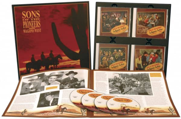 Wagons West (4-CD)