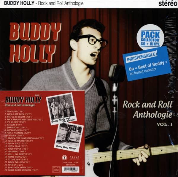 Rock And Roll Anthologie (25cm Vinyl+CD)