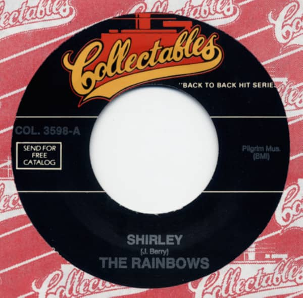 Shirley b-w Stay 7inch, 45rpm