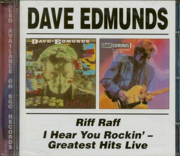 Riff Raff - I Hear You Rockin'- Greatest Hits Live (CD)