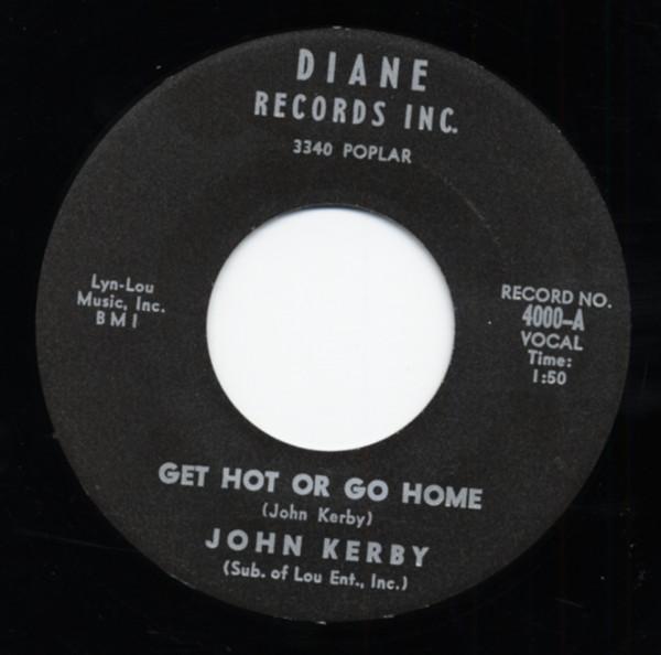 Get Hot Or Go Home - Melinda (7inch, 45rpm)