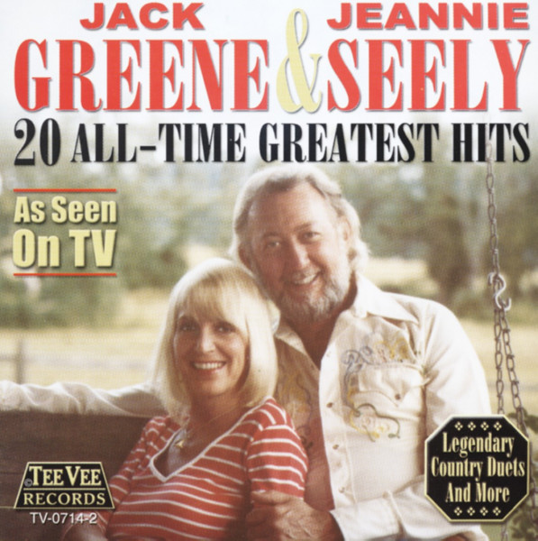 GREENE, Jack & Jeannie Seely 20 All Time Greatest Hits