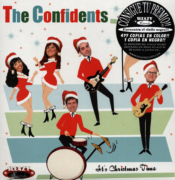 It's Christmas Time 7inch, 45rpm, PS EP
