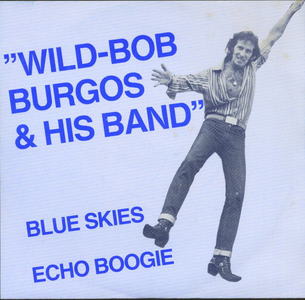 Blue Skies - Echo Boogie (7inch, 45rpm, PS, SC)