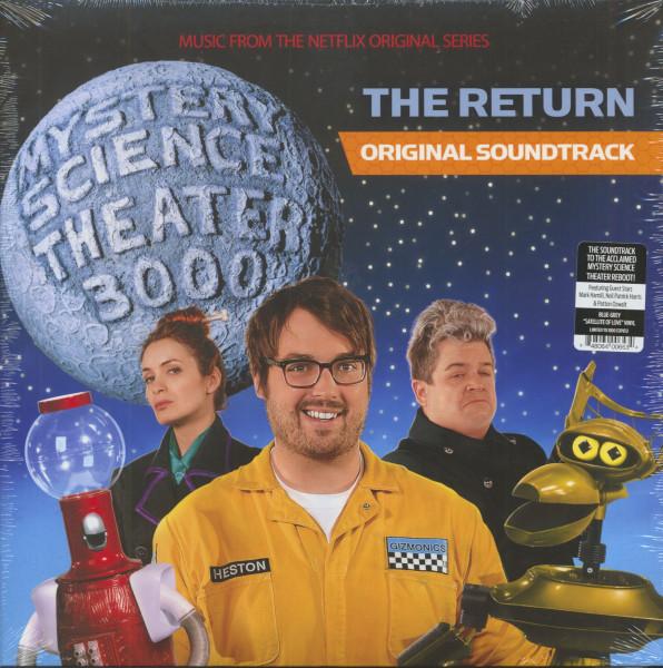 Mystery Science Theater 3000 - The Return - Original Soundtrack (LP, Blue-Grey Vinyl, Ltd.)