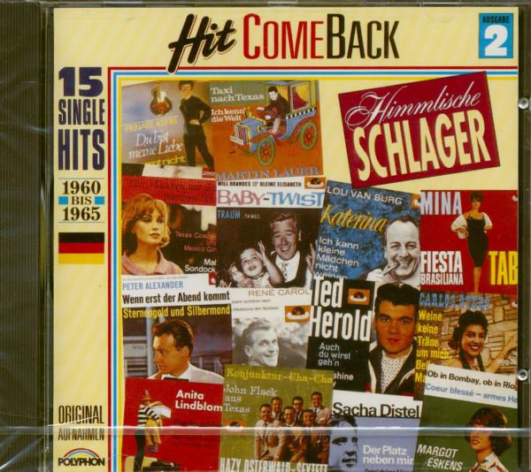 Hit Come Back - Himmlische Schlager Nr. 2 - 1960-1965 (CD)