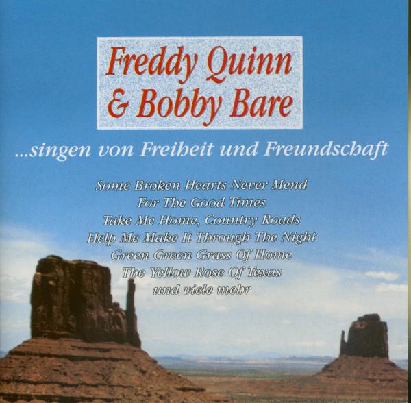 Freddy Quinn & Bobby Bare singen von Freiheit und Feundschaft (CD)