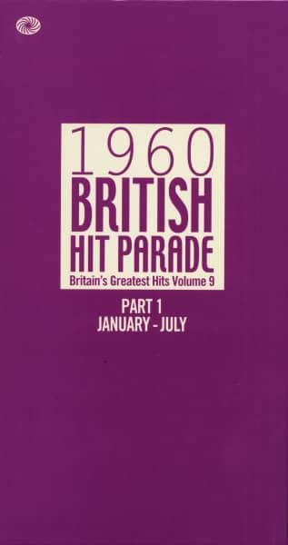 1960 British Hit Parade, Vol.9 - Part 1 January-July (6-CD Box)