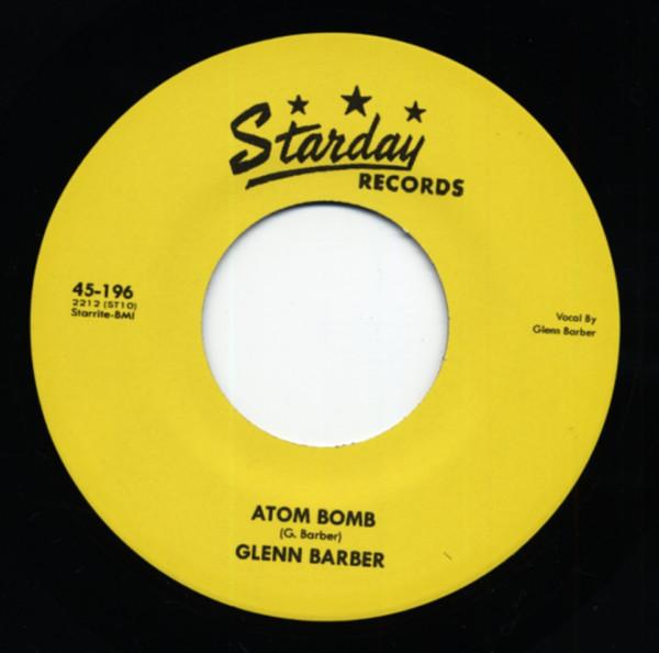 Atom Bomb b-w Poor Man's Baby 7inch, 45rpm