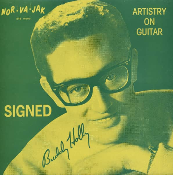 Artistry On Guitar 'Signed' Buddy Holly