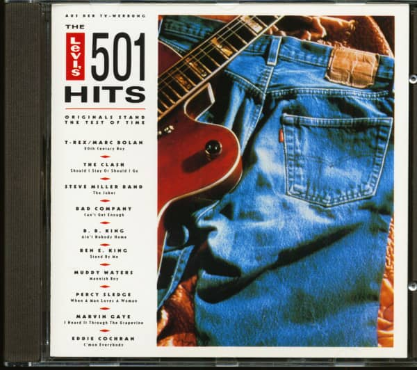 The Levi's 501 Hits - Originals Stands The Test Of Time (CD)