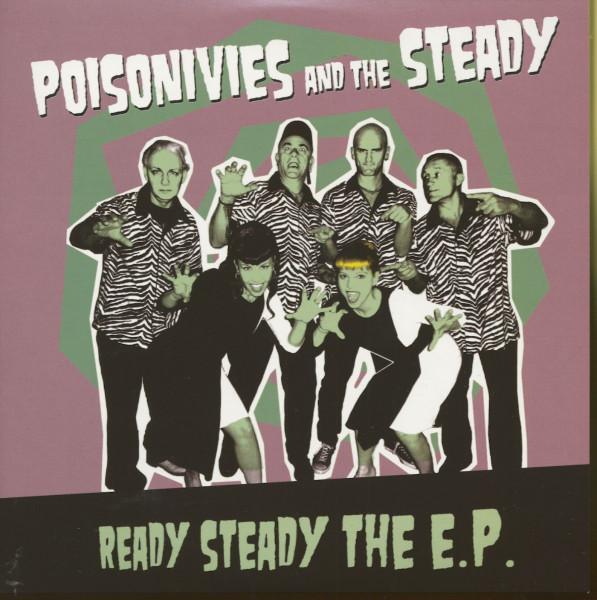 Ready Steady - The E.P. (7inch, 45rpm, EP, PS)