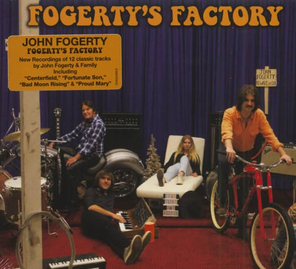 Fogerty's Factory (CD)