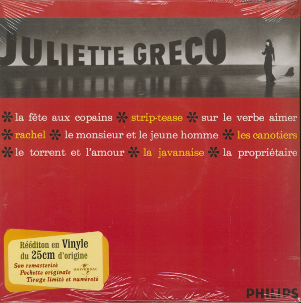 Juliette Greco (10inch LP, Limited Edition)