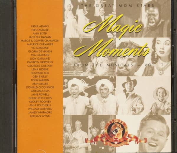 The Great MGM Stars - Magic Moments - From The Musicals Vol.1 (CD)