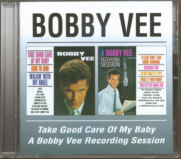 Take Good Care Of My Baby - A Bobby Vee Recording Session (CD)