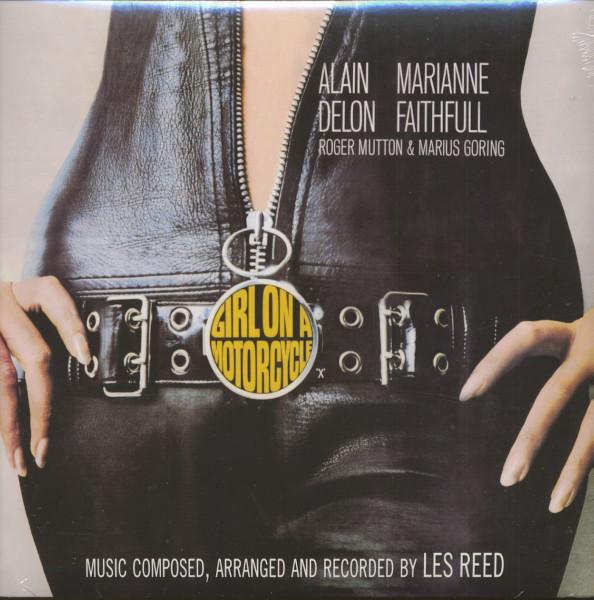 Girl On A Motorcycle - Soundtrack (LP, 180g Vinyl)