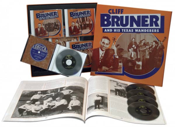 & His Texas Wanderers (5-CD)