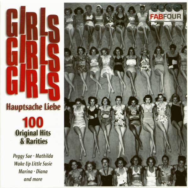 Girls, Girls, Girls Hauptsache Liebe (4-CD)