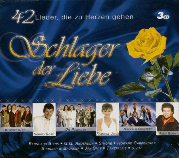 Schlager Der Liebe (3-CD)