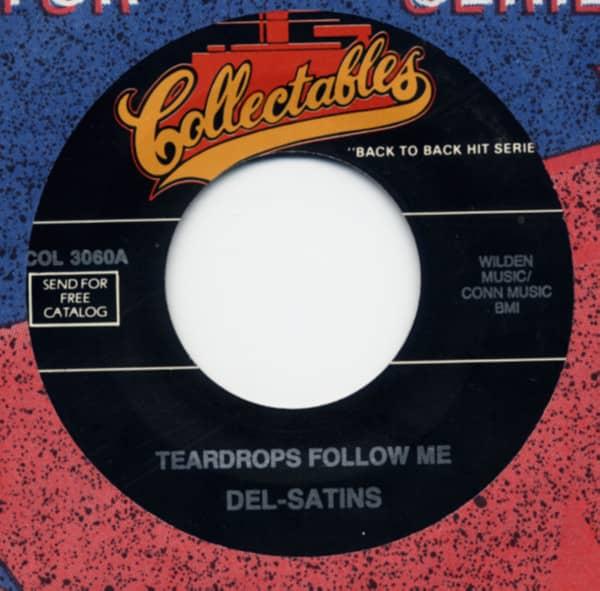 Teardrops Follow Me b-w Again 7inch, 45rpm