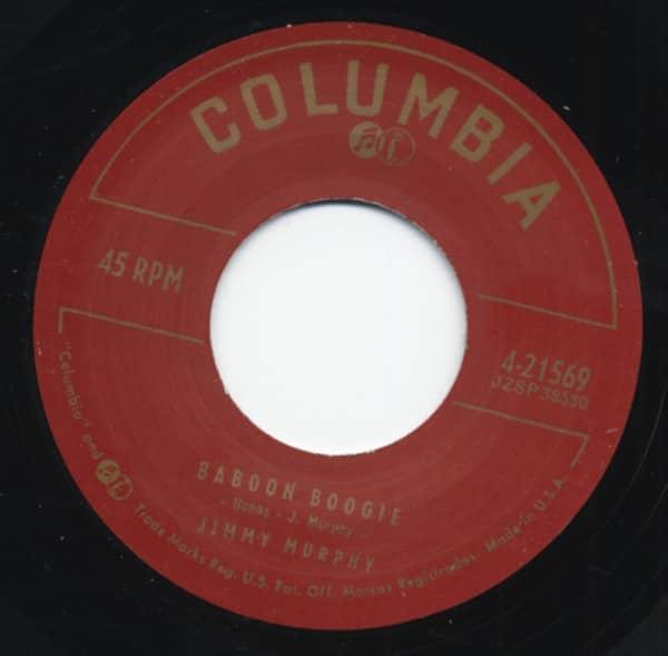 Baboon Boogie b-w Grandpaw's A Cat 7inch, 45rpm