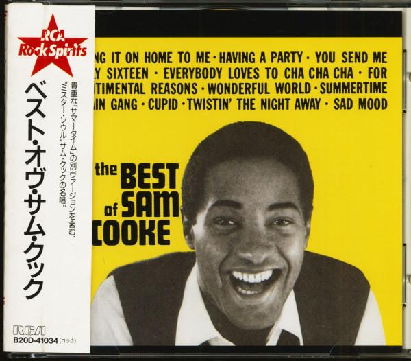 The Best Of Sam Cooke (CD, Japan)