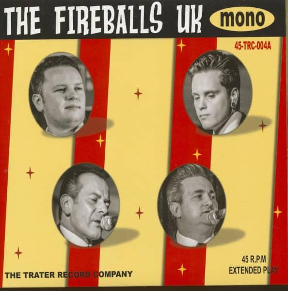 The Fireballs U.K. (7inch, 45rpm, EP, PS)
