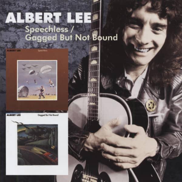 Albert Lee CD Speechless Gagged But Not Bound
