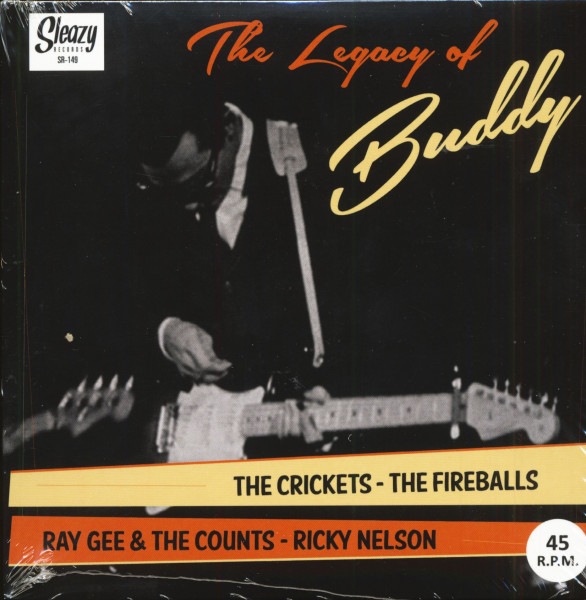 The Legacy Of Buddy (7inch, EP, 45rpm, PS)