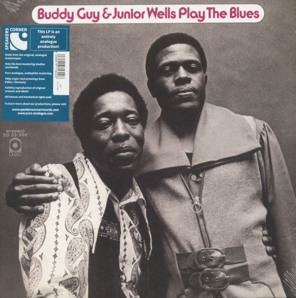Buddy Guy & Junior Wells Play The Blues (LP, 180g Vinyl)