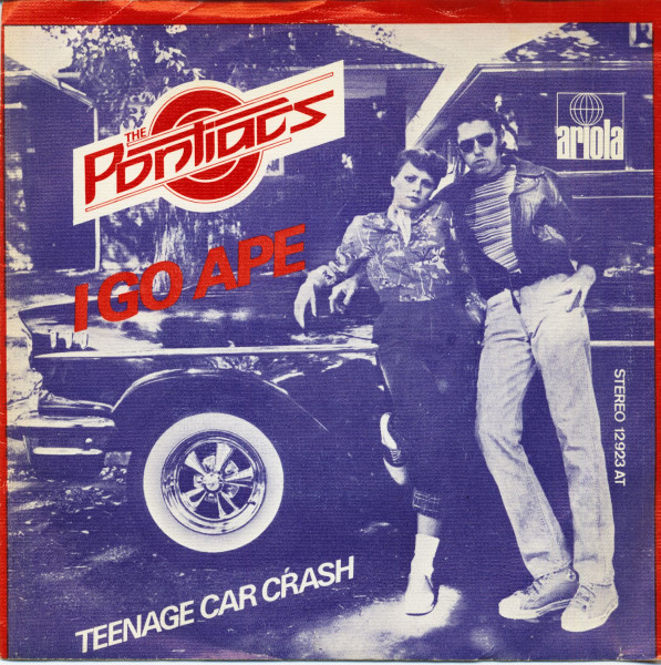 I Go Ape - Teenage Car Crash (7inch, 45rpm, PS, SC)