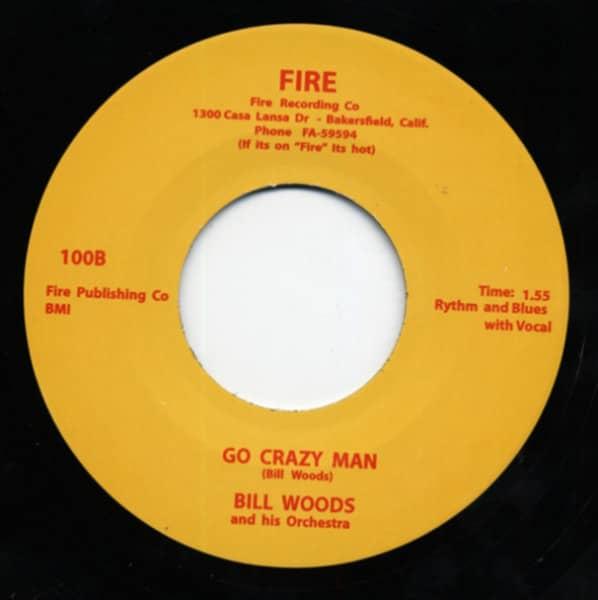Bop - Go Crazy Man - 7inch, 45rpm