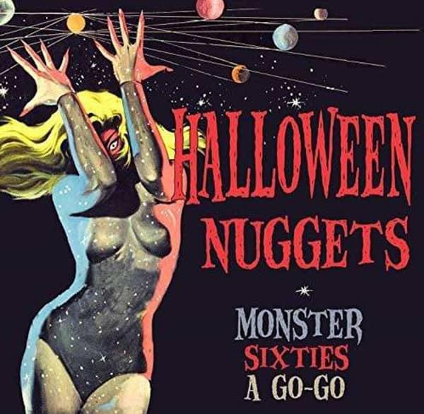Halloween Nuggets Monster Sixties A Go-Go (3-CD)