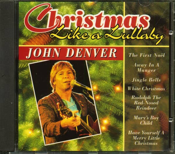 John Denver Christmas.John Denver Christmas Like A Lullaby Cd