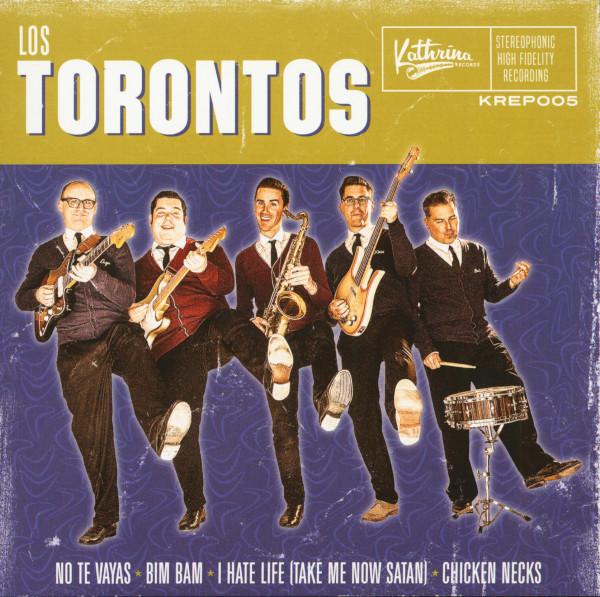 Los Torontos (7inch, EP, 45rpm, PS, Ltd.)